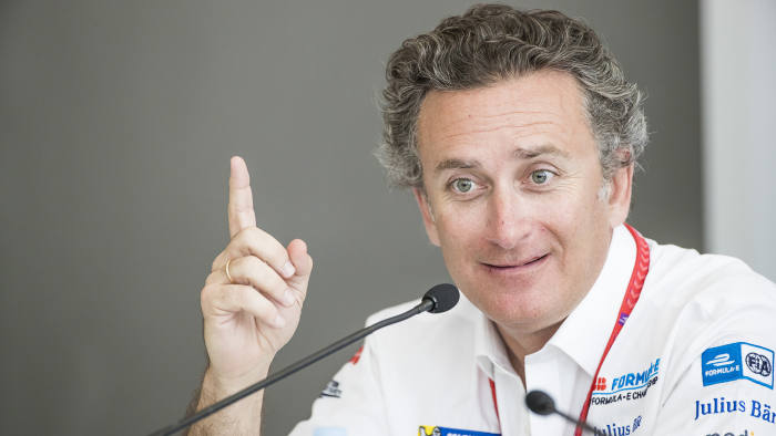 Alejandro Agag, CEO, Formula E. - supplied