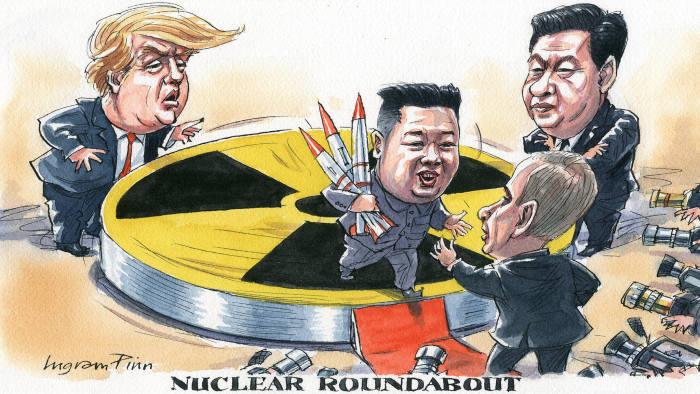 web_Kim Jong Un meets Putin