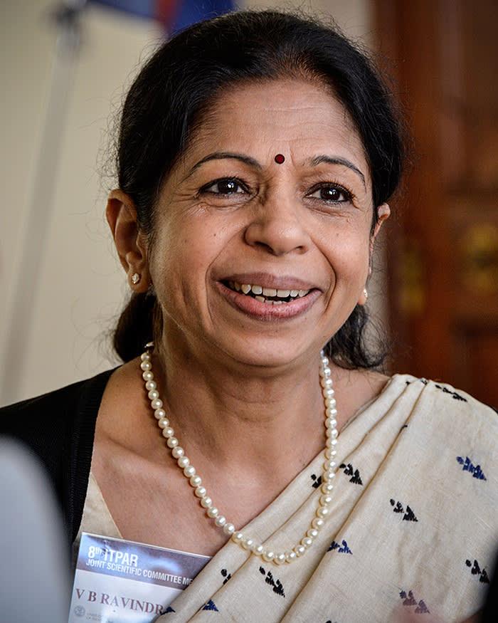 Incontro delegazione Indiana in relazione al Progetto ITPAR. Rettorato 6 ottobre 2014 Nella foto la Dottoressa Vijayalakshmi Bhagavathula Ravindranath.