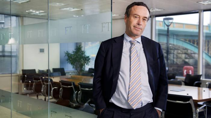 Financial Times Editor Lionel Barber. © Linda Nylind / eyevine Contact eyevine for more information about using this image: T: +44 (0) 20 8709 8709 E: info@eyevine.com http:///www.eyevine.com