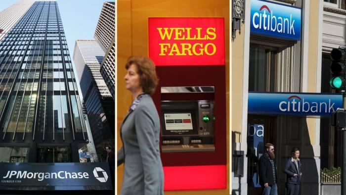 JP morgan, Wells Fargo Citibank FTmontage