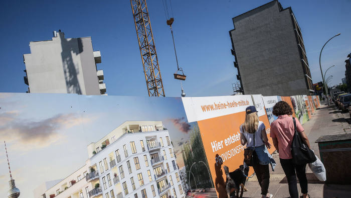 04b070ce43bcf9 Short supply  modest construction rates have driven up rents in German  cities such as Berlin © Getty