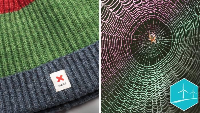 Bolt Threads spider silk woven hat