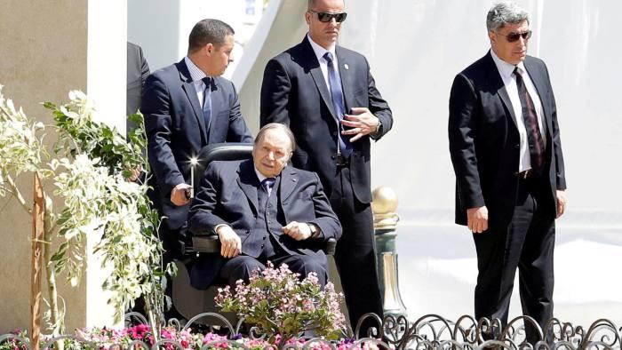 FILE PHOTO: Algerian President Abdelaziz Bouteflika is seen in Algiers, Algeria April 9, 2018. REUTERS/Ramzi Boudina/File Photo