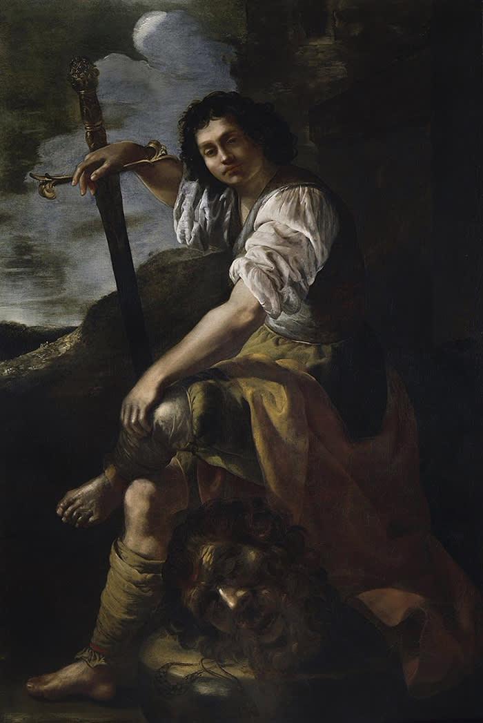 David with the head of Goliath, by Artemisia Gentileschi. c.1639