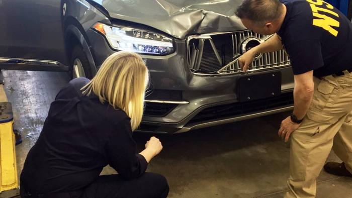 Self-driving car crash report highlights Uber safety