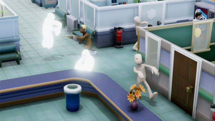 Zany: hospital management simulator 'Two Point Hospital'