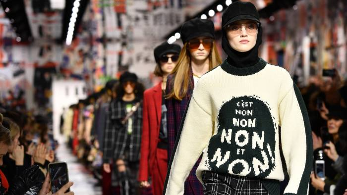 2548814acc4 Dior AW18 review  still marching to the same tune