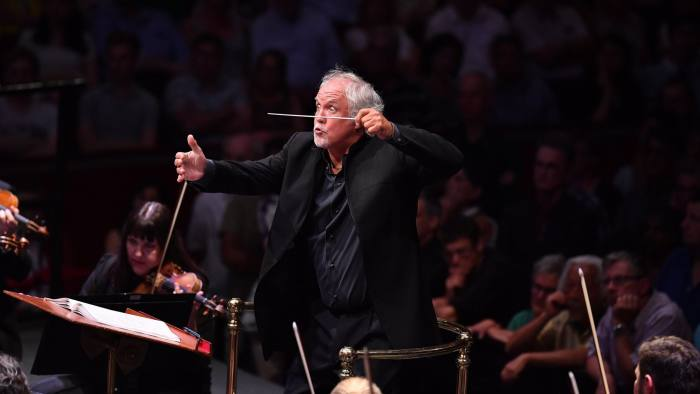 Donald Runnicles conducts the World Orchestra for Peace at the Royal Albert Hall