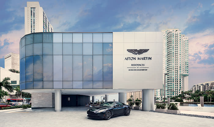 The Aston Martin residences in Miami will be completed in 2022. Whoever buys the $50m Triplex Penthouse wil have access to the last remaining Aston Martin Vulcan