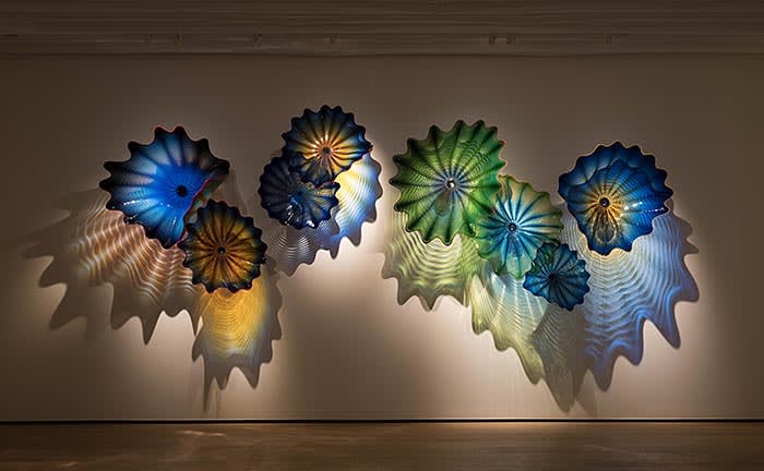 Installation view 'CHIHULY Hong Kong', Whitestone Gallery Hong Kong, 2018 Courtesy of Whitestone Gallery