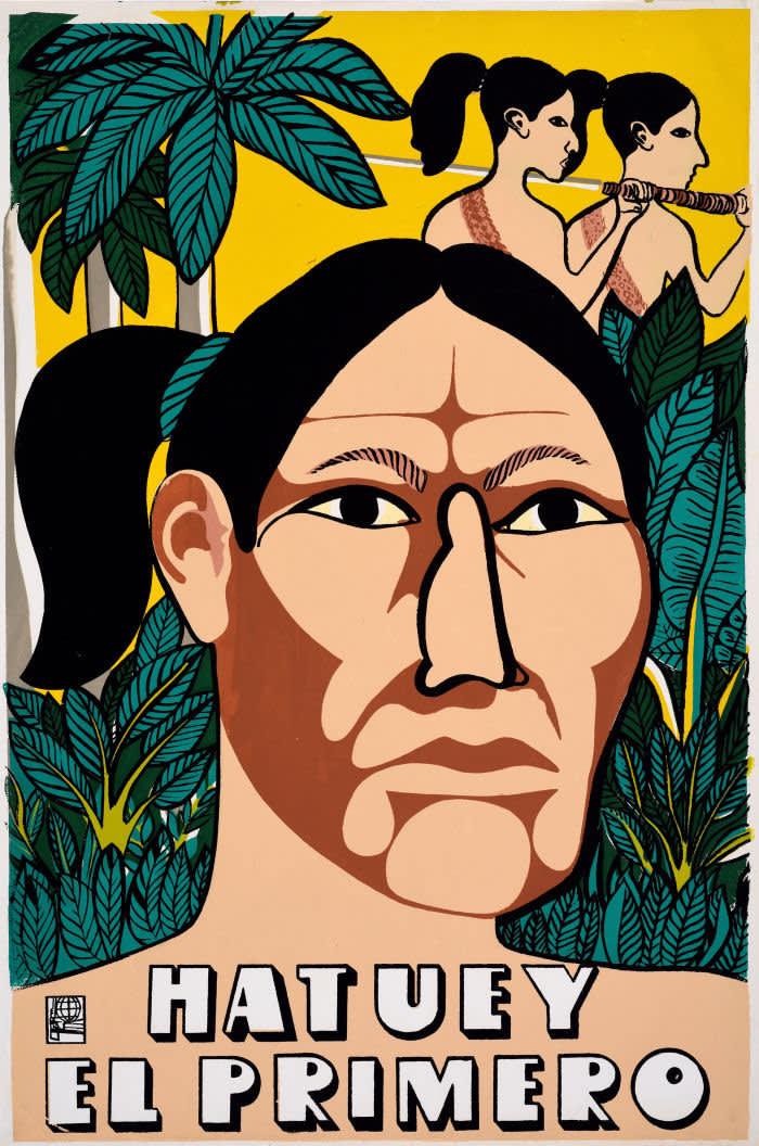Hatuey El Primero, 1992 © Gladys Acosta Ávila, OSPAAAL, The Mike Stanfield Collection