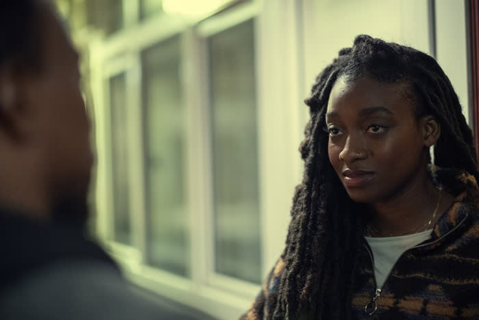 'Top Boy', on right Letitia Wright. Netflix