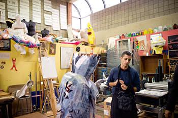 The head of arts programmes, Justin Mazzei