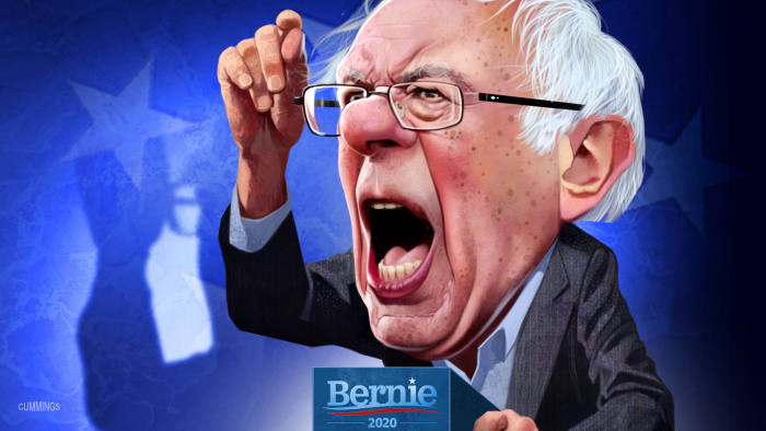 Bernie Sanders, a socialist surges in Iowa | Financial Times
