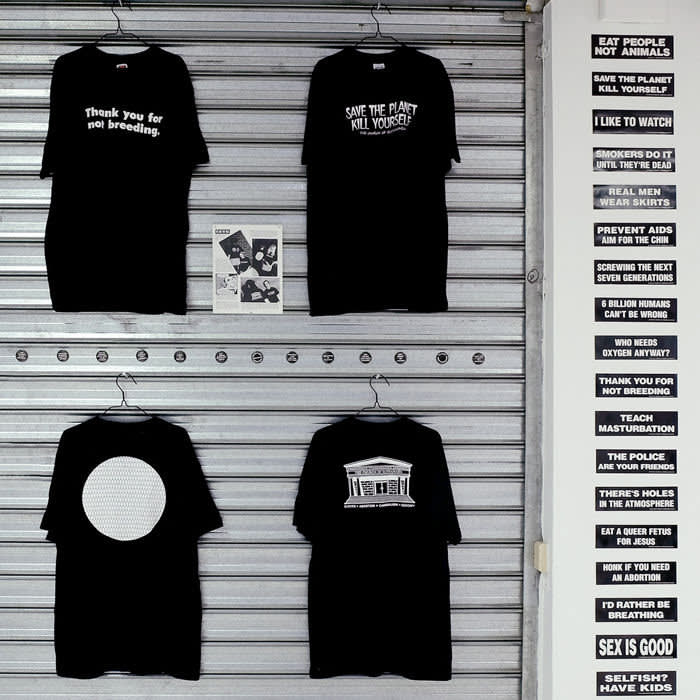 At the fair, Goswell Road will be selling t-shirts and stickers.