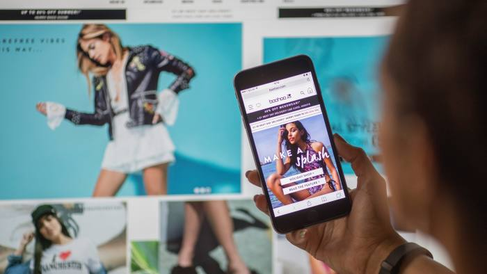 93ae19e72d Boohoo sales jump 50% in fast fashion surge | Financial Times