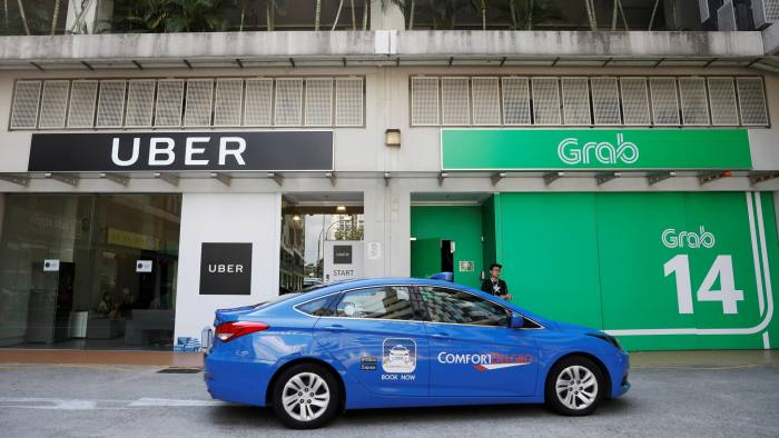 The watchdog said Uber's agreement to fold its operations into Grab had 'substantially lessened' competition since the two were each others' closest competitors