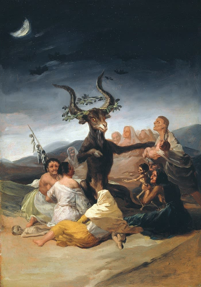 Lázaro Galdiano Museum painting from collection - just checking - imagine it is a Goya