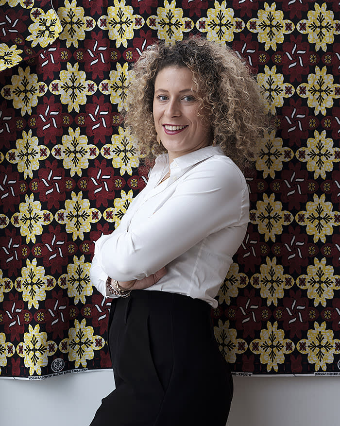 Rania Belkahia, CEO and co-founder of Afrimarket an African e-commerce platform by Magali Delporte for the Financial Times