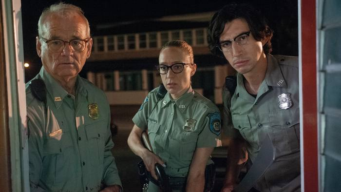 From left, Bill Murray, Chloë Sevigny and Adam Driver in 'The Dead Don't Die'