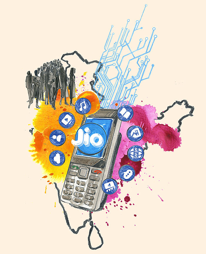 Reliance Industries' Jio reshapes India's telecoms market