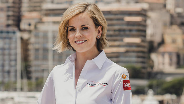 cut out - Venturi Formula E Team - Susie Wolff (Team Principle)