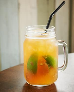Jam jar glass, £4.50, iguanas.co.uk