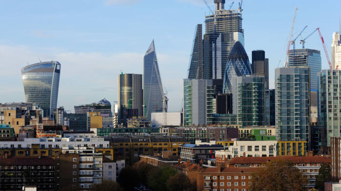 FILE: Skyscrapers, including 20 Fenchurch Street, also known as the