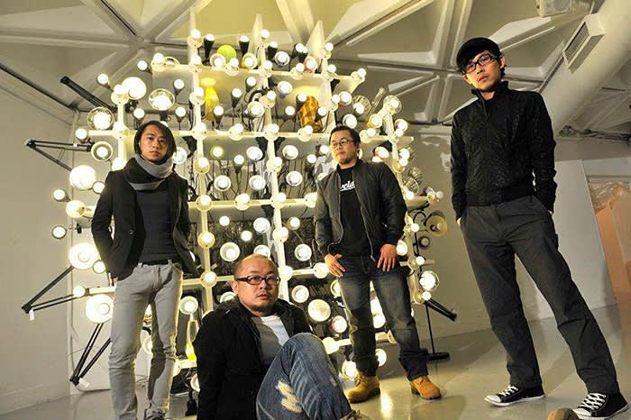 The artist group, LuxuryLogico.