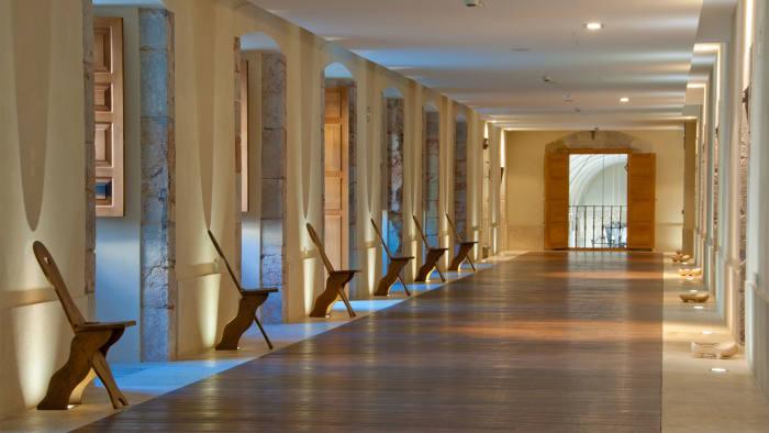 corridor at the Parador de Corias