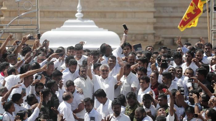 Deep divisions confront Sri Lanka's new president