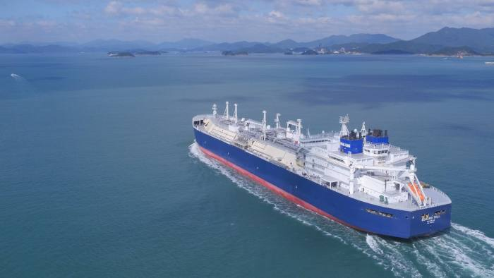 EDUARD TOLL, TEEKAY'S FIRST ICEBREAKER LNG CARRIER NEWBUILDING, IS DELIVERED