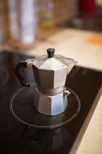 Gianotti's espresso maker