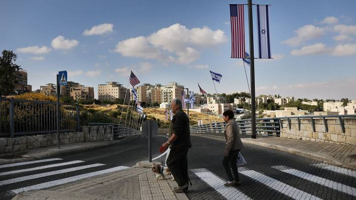 US embassy move to Jerusalem seen as Israeli triumph | Financial Times
