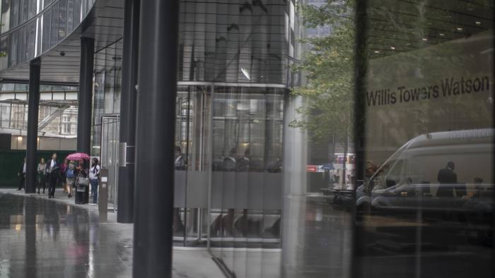 To go with FCA story - Willis Towers Watson building in the city.