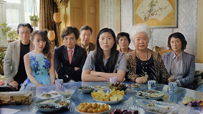 Scene from the movie The Farewell
