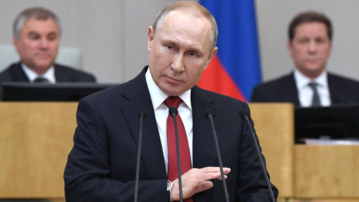 Vladimir Putin Sets Stage For Retaining His Grip On Power Financial Times