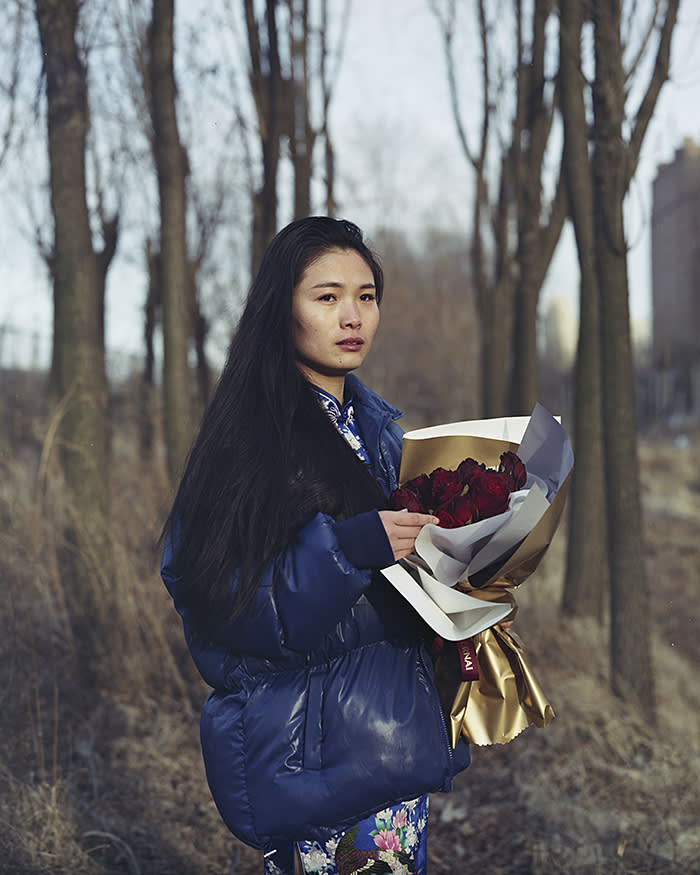 'Young people are reluctant to work in the industries their parents relied on': an unnamed web celebrity prepares to shoot a Valentine's Day video in Liaoning, Manchuria's southernmost province