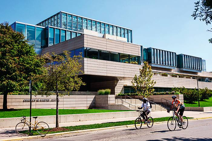 EDW37K Chicago Illinois Hyde Park campus University of Chicago Booth School of Business Harper Center front