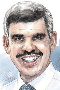 Mohamed El-Erian at Allianz. Illustrator: Tony Healey