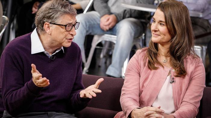 GOOD MORNING AMERICA - Bill and Melinda Gates are guests on