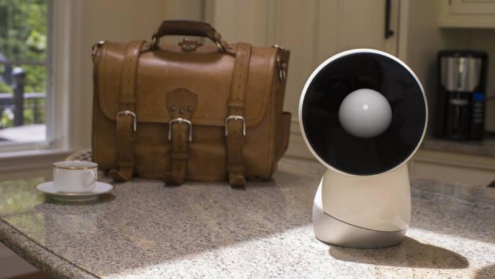 A Jibo home robot