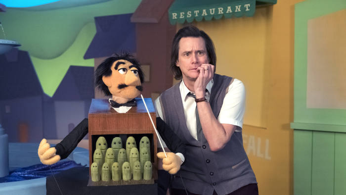 Jim Carrey is horribly watchable as a children's TV star in