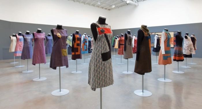 Zittel's installation at Regen Projects, Los Angeles