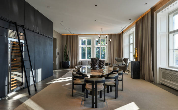 A two-bedroom apartment with river views in the Old Town, $6.426m through Christie's