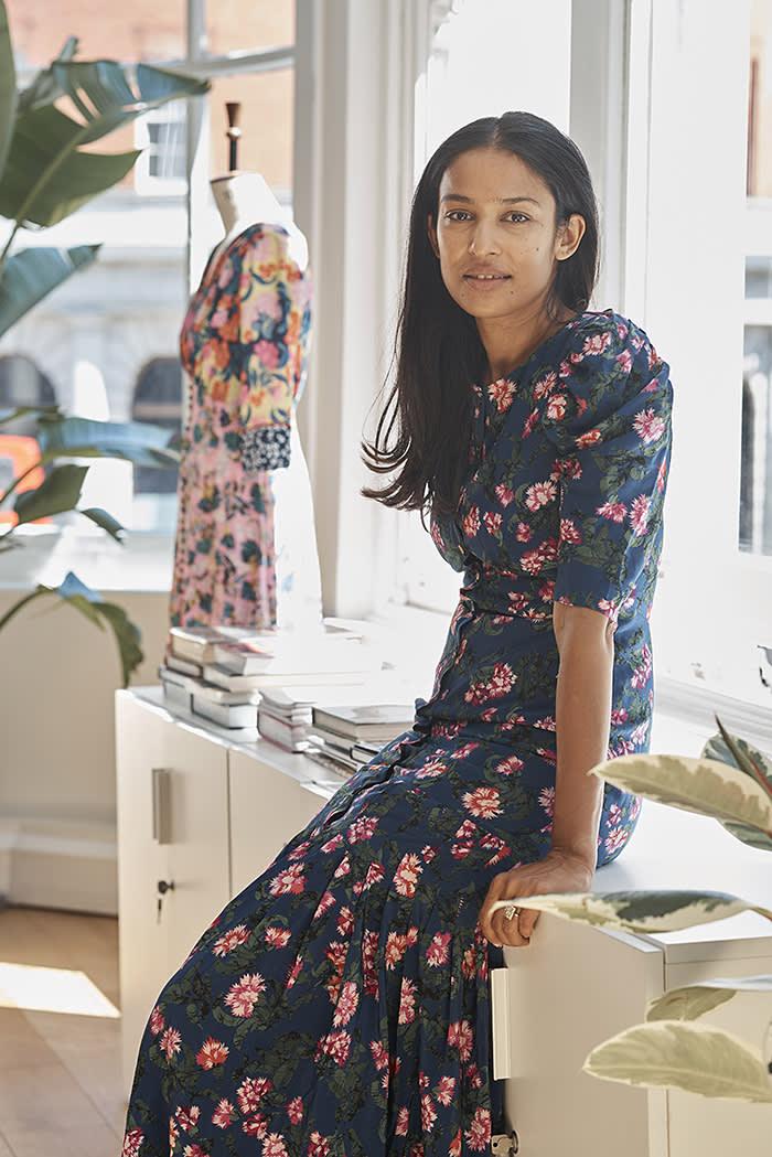 9cbe69986588 Saloni Lodha — meet the jet-set dressmaker   Financial Times