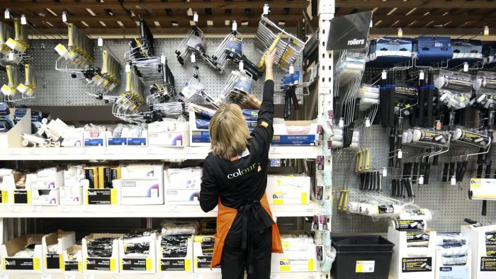 Online sales account for just 6% of revenues at Kingfisher's B&Q chain