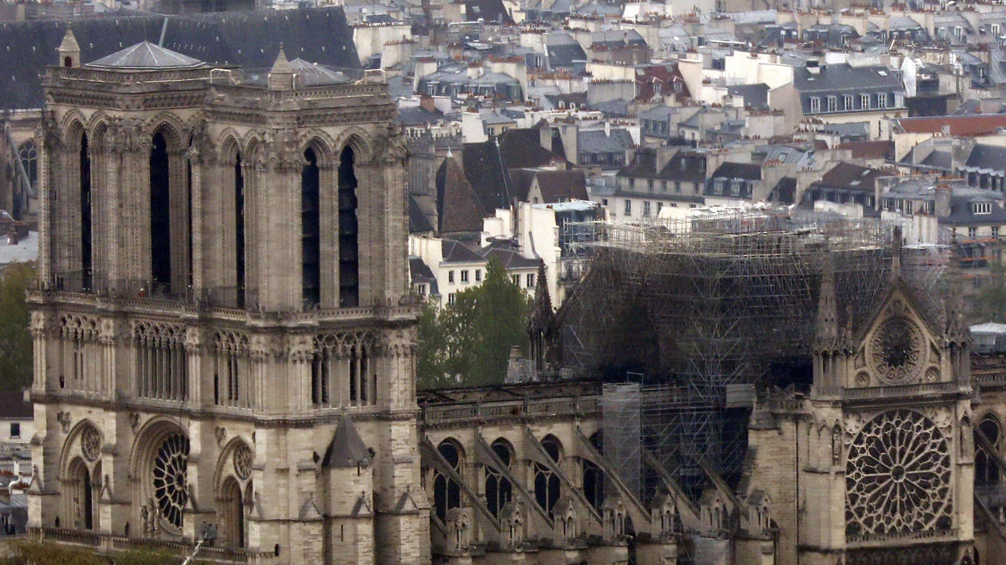 Macron calls for Notre-Dame to be restored within five years | Financial Times