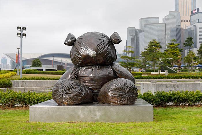 Gimhongsok's 'Bearlike Construction' (2012)